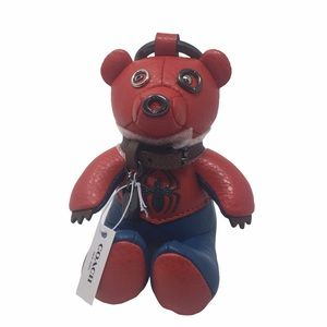 Coach/Marvel Spider-Man Collectible Bear Charm